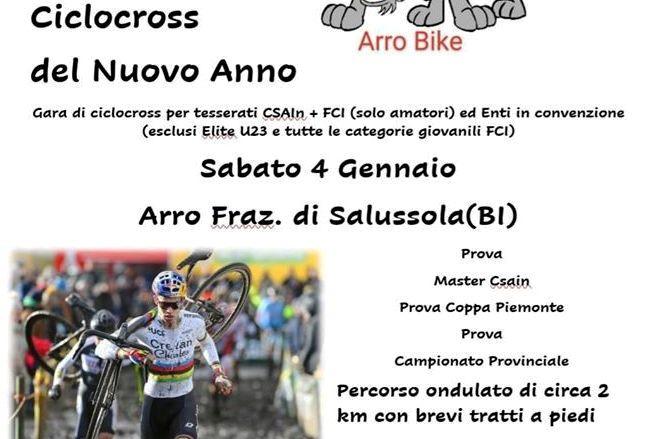 Ad Arro si disputa una gara di ciclocross per propiziare il nuovo anno