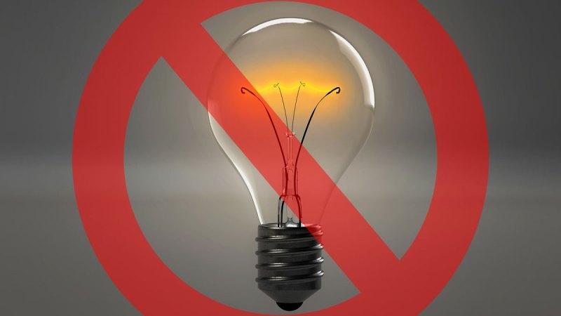 Domani niente corrente elettrica dalle ore 10.30 alle ore 12.30 in alcune zone del paese