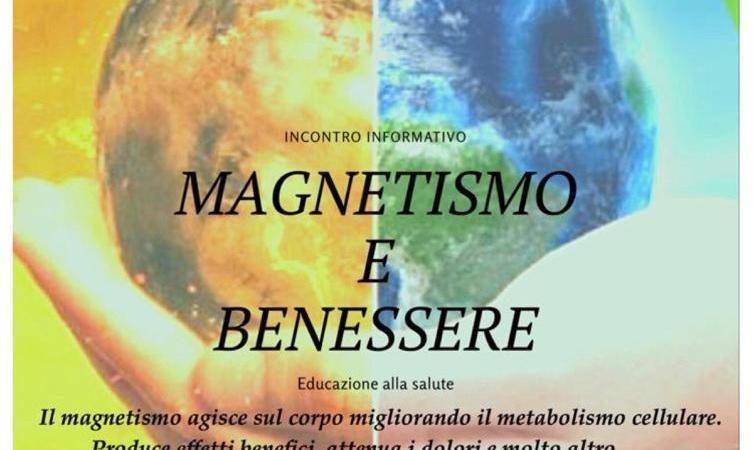 Magnetismo e benessere se ne parla in biblioteca civica