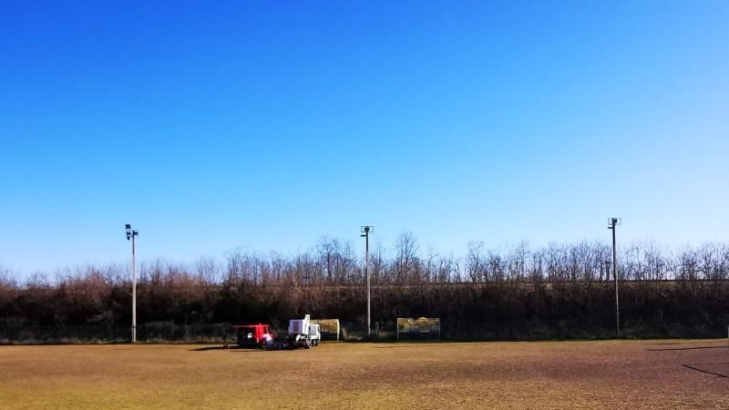 Nuova luce per il Campo Sportivo Comunale