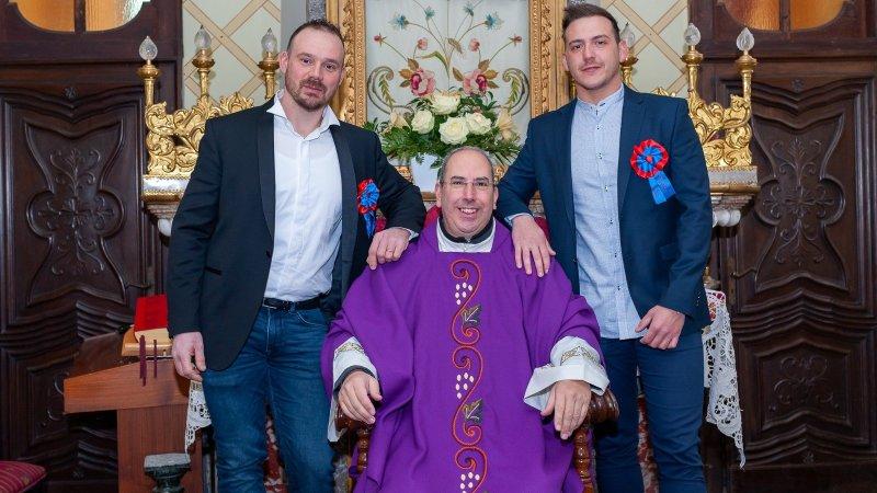 Daniele è il nuovo priore della festa 2020 di san Pietro Levita