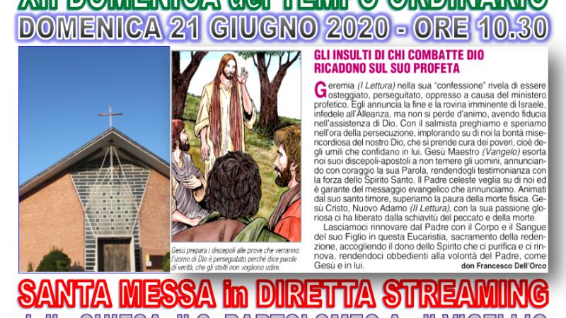 Per la riapertura della chiesa di Vigellio  la Messa è trasmessa anche in diretta