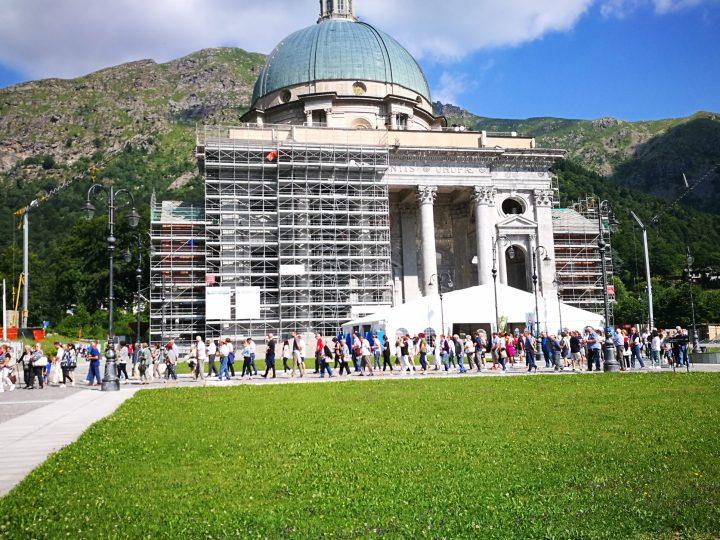 Domenica 2 agosto pellegrinaggio ad Oropa di Salussola e Zona Pastorale III – Pianura