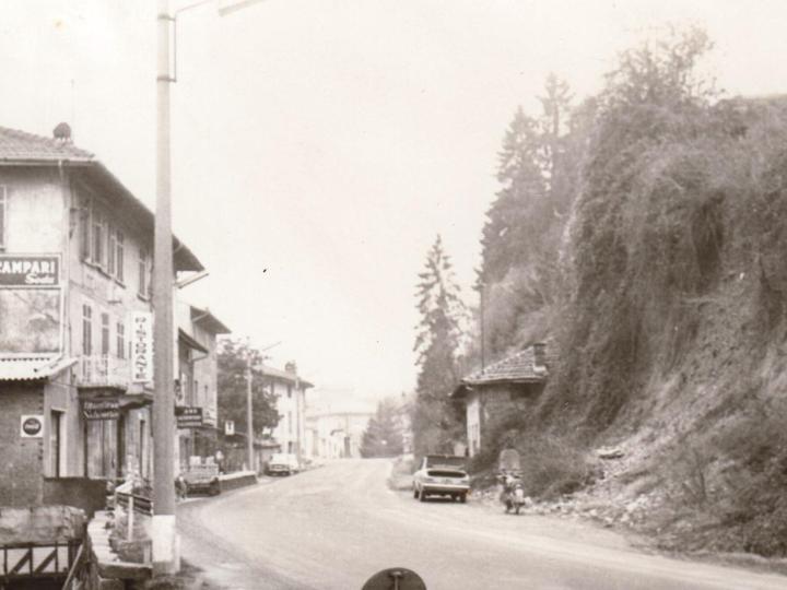 Vecchia Salussola: La provinciale di Biella, il Cavallo Bianco e la collina franata nel 1968