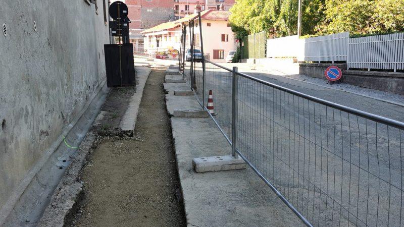 Proseguono i lavori di manutenzione alla rete fognaria di Via della Stazione. FOTOGALLERIA