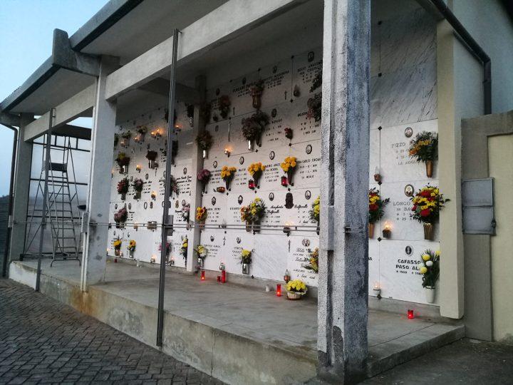 Oggi, meteo permettendo, c'è la Messa nel cimitero di Vigellio