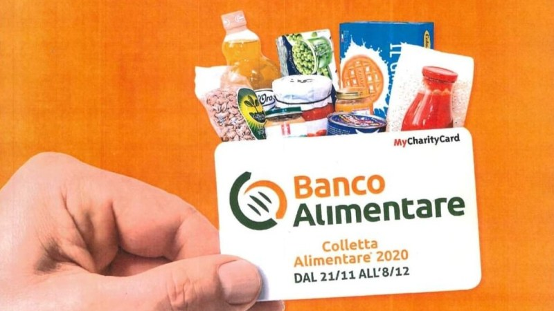 Quest'anno la colletta alimentare si fa solo acquistando una card al supermercato