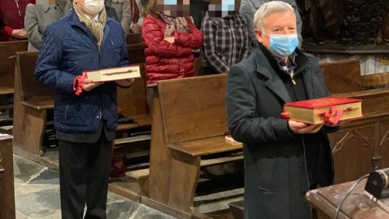 Grazie ad alcuni parrocchiani il dono del nuovo messale romano. FOTONOTIZIA