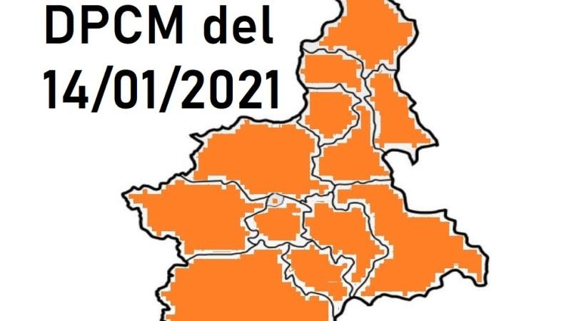 Covid-19: Che cosa prevede l'ultimo DPCM del 14 gennaio in vigore fino al 5 marzo 2021