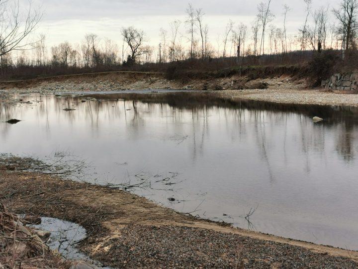 Sopralluogo della Regione Piemonte sulle ultime erosioni del torrente Elvo