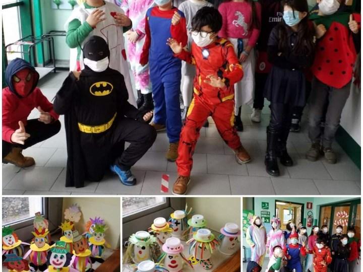 Buon carnevale dalla scuola primaria di Salussola. FOTONOTIZIA