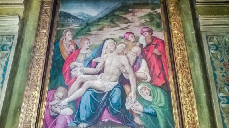 La Pietà Panerio è forse un'opera minore e poco conosciuta di Giuseppe Giovenone il Giovane