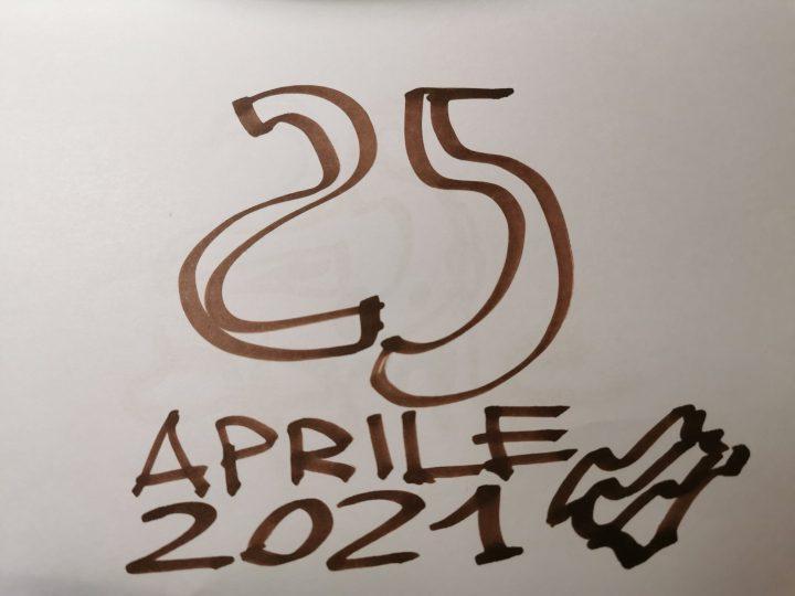 Il 25 aprile 2021