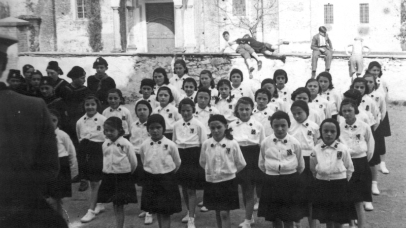 Vecchia Salussola: Le giovani italiane. FOTO