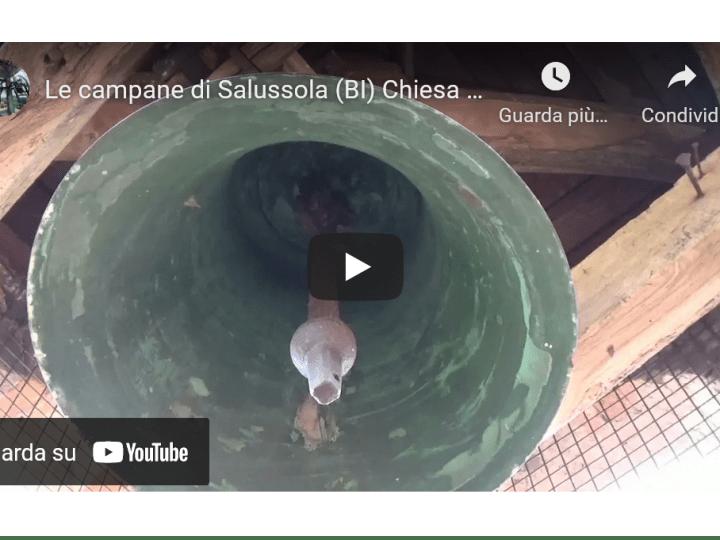 La campana della chiesa di san Rocco a la Bastìa. VIDEO