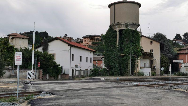 Ferrovia Biella Santhià: Addio al terzo binario della stazione di Salussola