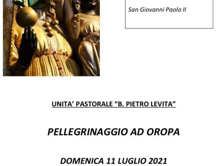 Domenica 11 luglio c'è il pellegrinaggio ad Oropa