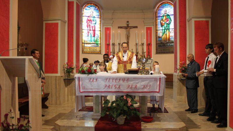 Oggi è la festa religiosa di san Secondo Martire, ma sarà ricordato sabato 28 agosto