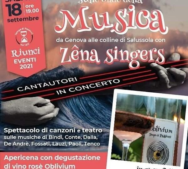 i Zena Singers da Genova a Ca' Riunci con la musica dei migliori cantautori