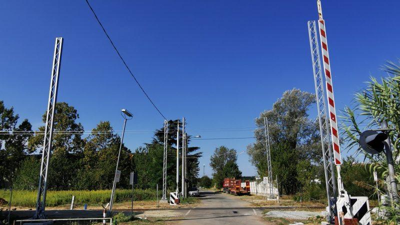 Ferrovia Biella – Santhià: Si lavora in zona ex stazione e passaggio a livello di località Brianco