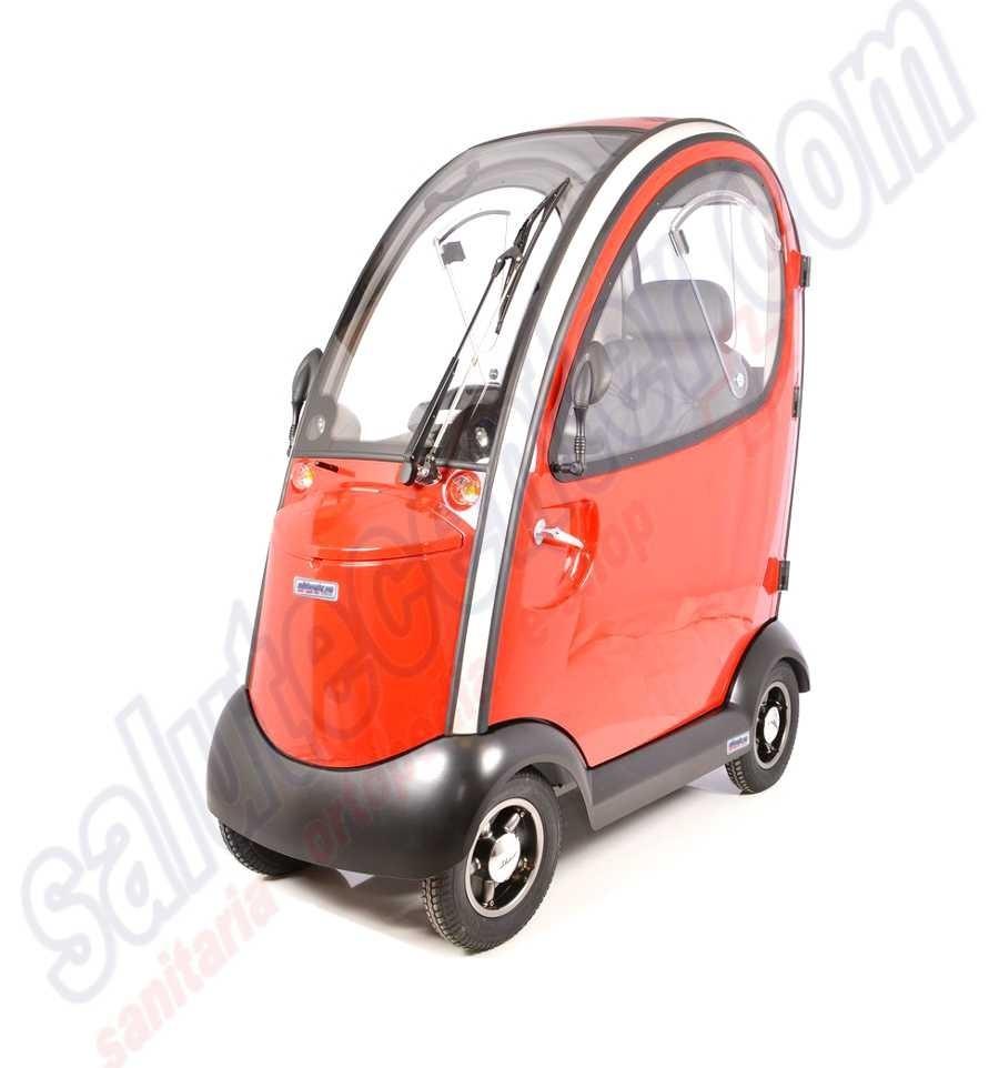 Ovetto  Scooter elettrico a 4 ruote con cabinato coperto