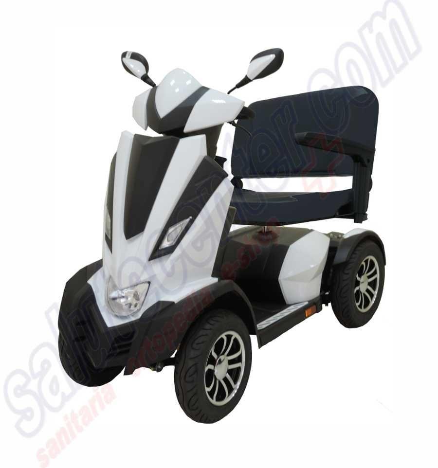scooter disabili elettrico doppio sedile panther 4 ruote due 2 posti