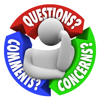 questions or comments operation