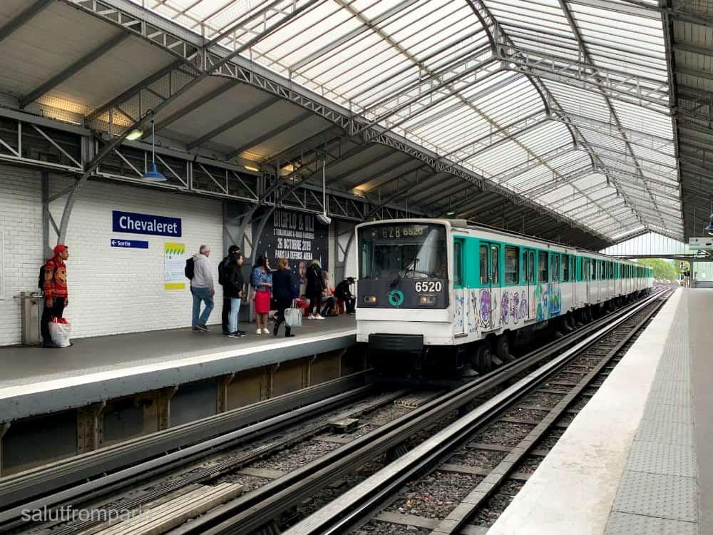 How to use Paris Metr0