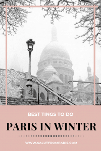 Paris in Winter - find the best things to do in December and if you spend christmas in paris