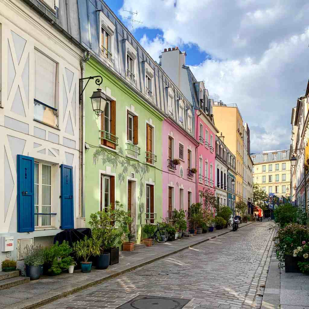 Pretty streets in Paris - Rue Crémieux