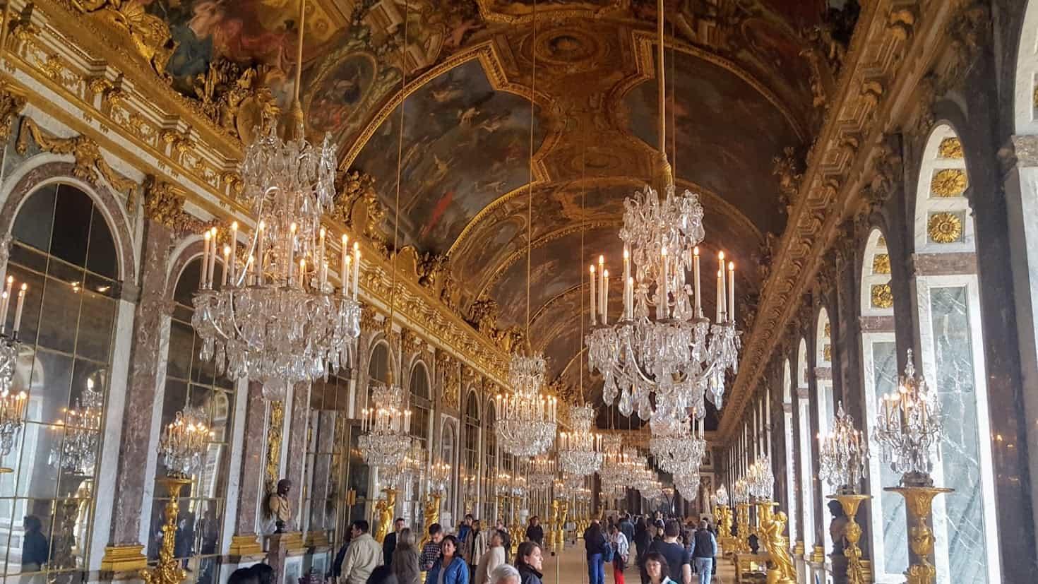 Versailles half day tour - visit the Castle of Versailles during a half day or day tour