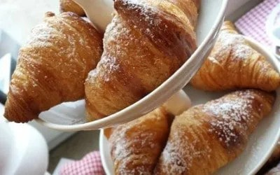 Croissants - take a baking course in Paris and learn how to bake the french classic treat