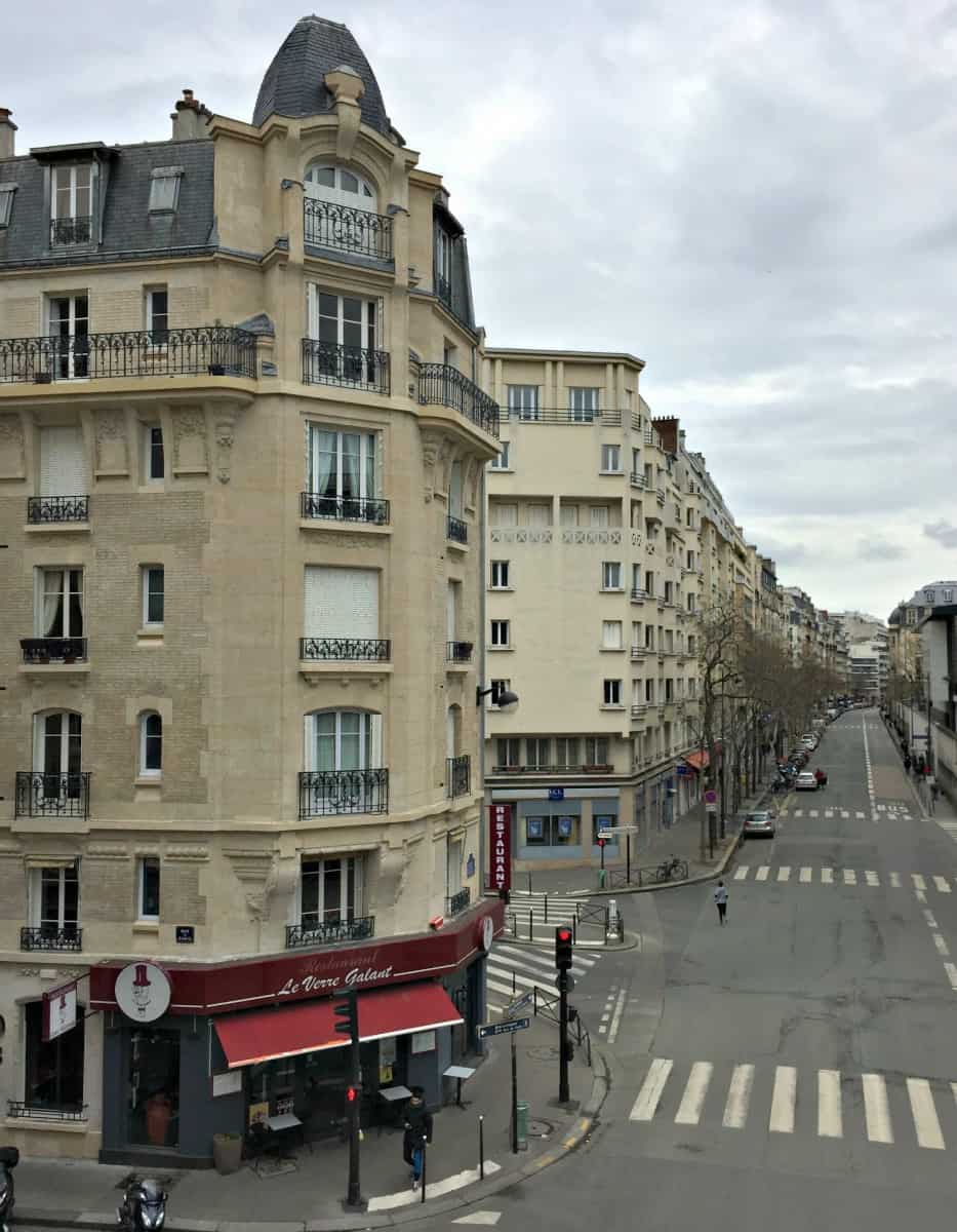 nice View over Paris from the Petite Ceinture