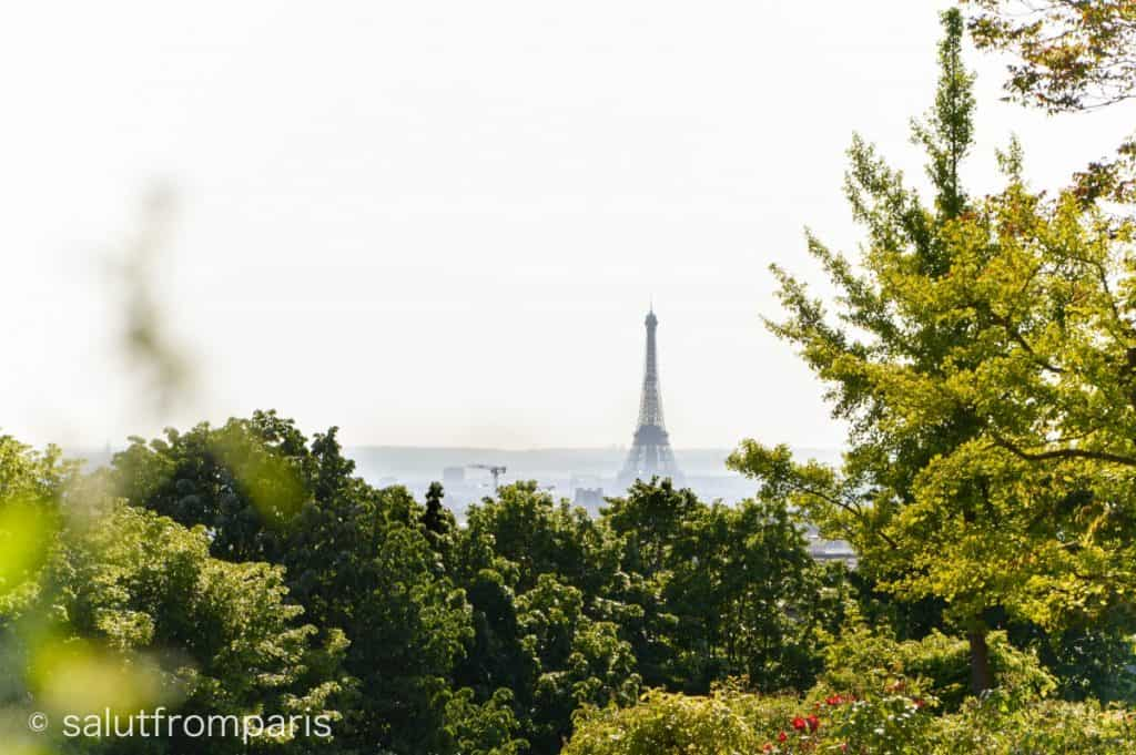 Eiffel Tower View Point: Belleville - Paris hidden gems