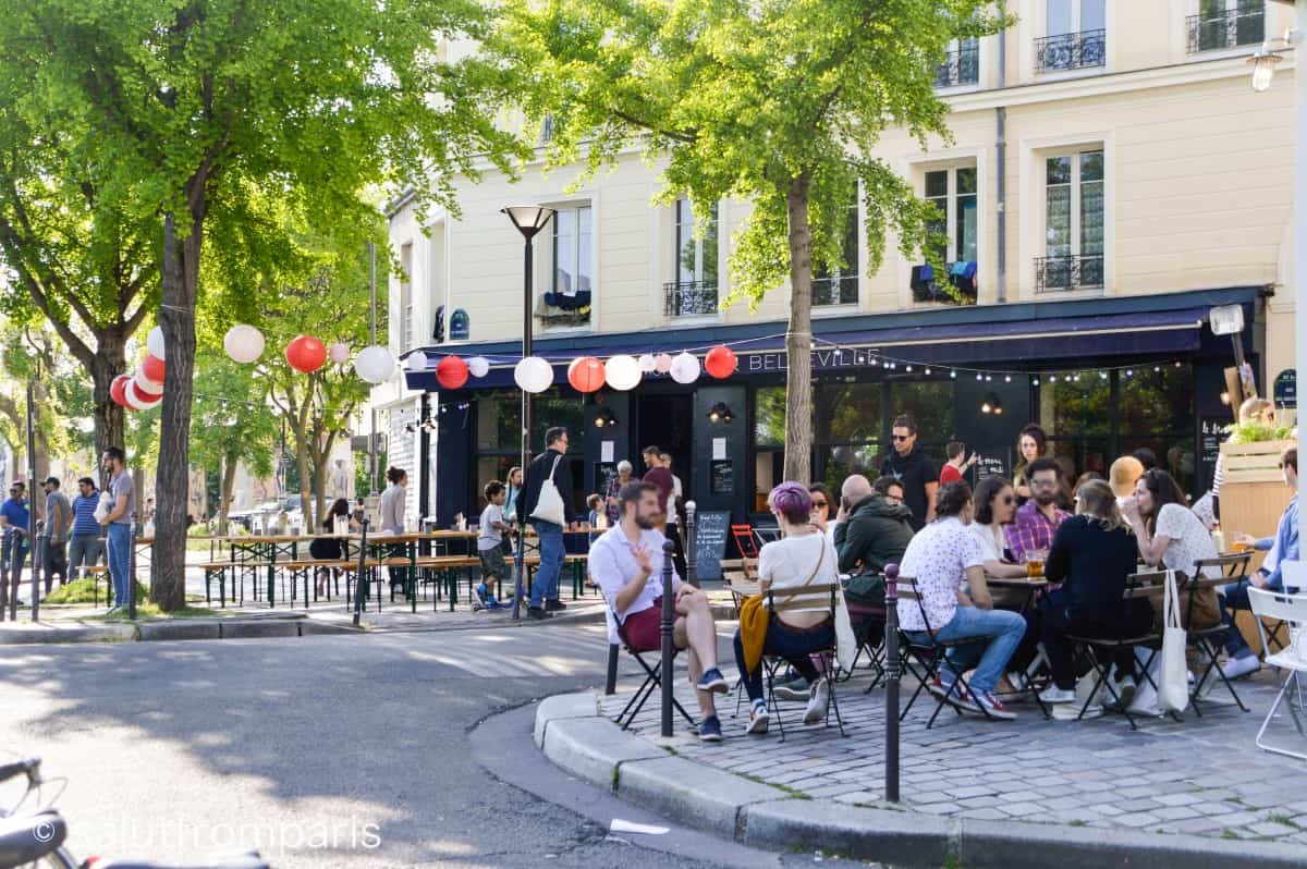 Belleville is a laid back and friendly neighbourhood to discover the hidden Paris With only a few Hotels in Belleville, the area isn't very touristic and a true hidden gem in Paris. Hotels Belleville Paris