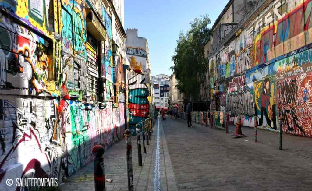 Belleville is the center of street art and urban culture and urban Art in Paris - this quarter far from the touristic center has it's own spirit and should not be missed if you want to discover Paris secrets