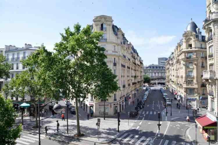 Location for Photographers in Paris: Coulée Verte - a good photo location to get a unique view on Paris