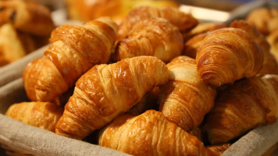 what to eat in Paris? There is one item that can't be missing in any Paris food guide: Croissants!
