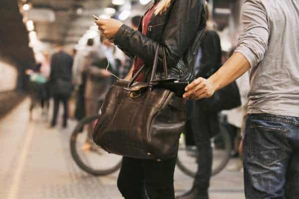 Pickpockets in Paris Metro