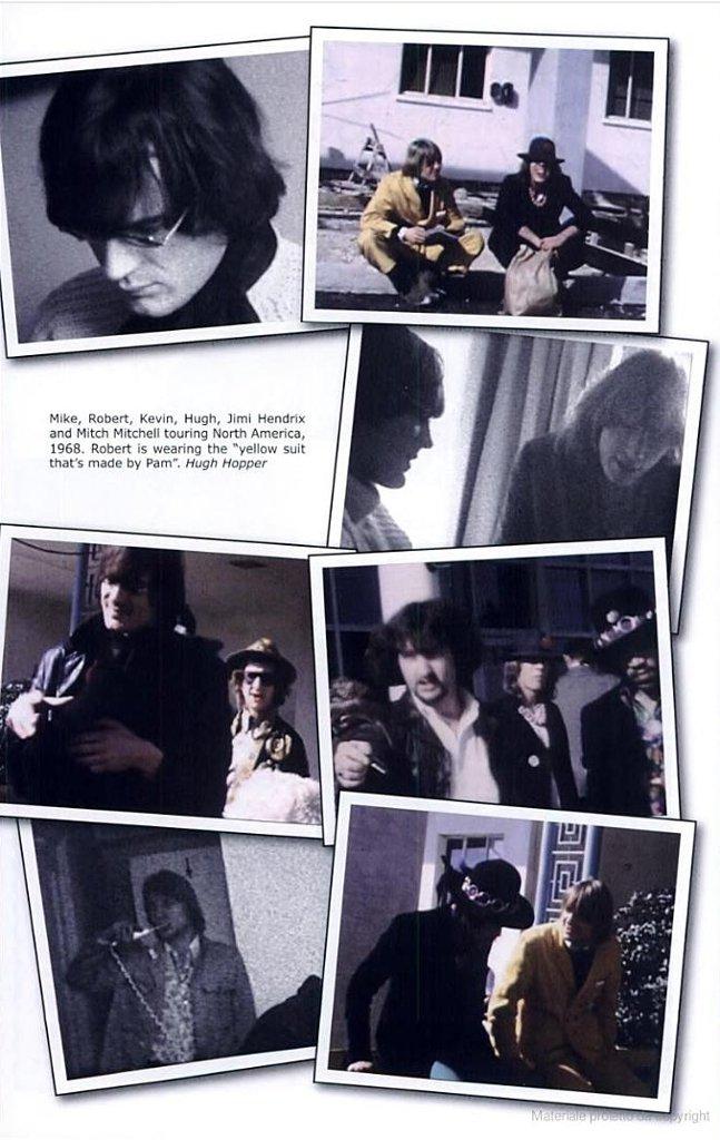 Jimi Hendrix Soft machine Usa
