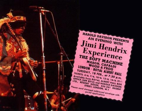Jimi Hendrix Experience and Soft Machine