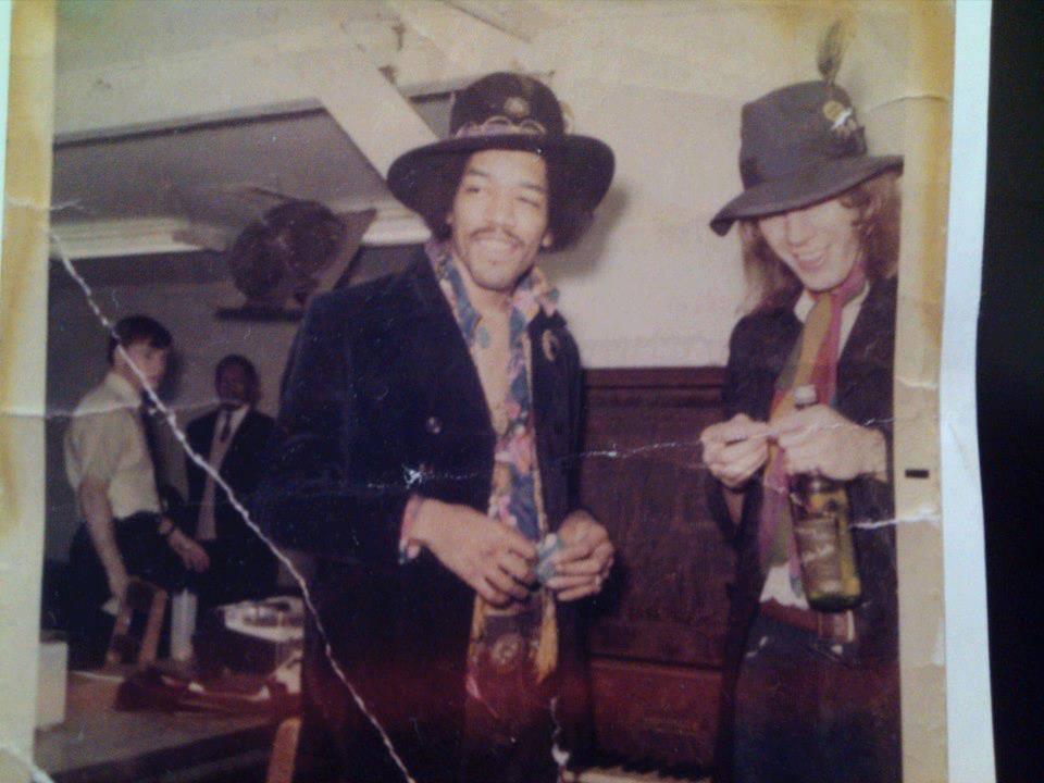 Kevin Ayers, jimi Hendrix, USA, 1968, Soft Machine, Acravan, SHRC, Saluzzi's Home Record Collection