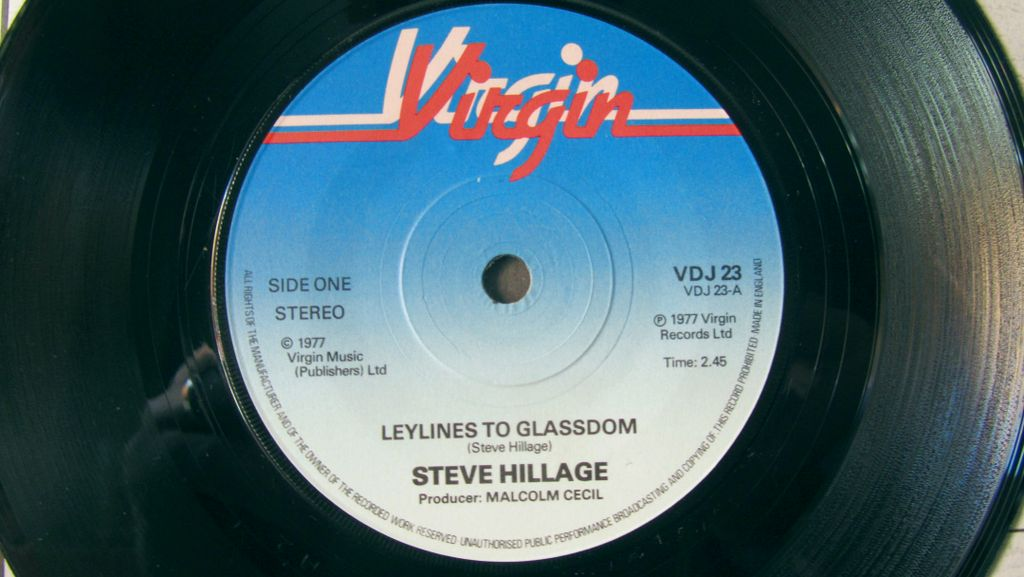 Steve Hillage Laylines to Glassdom