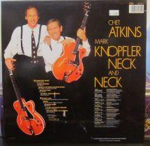 Mark Knopfler and Chet Atkins back retro caratula