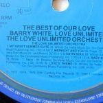 Barry White Love Unlimited Orchestra Etichetta Lato 4