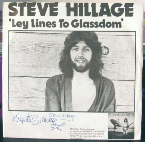 steve hillage ley lines to glassdom, Gong, Motivation Radio