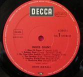 John Mayall Blues Giant Etichetta Lato 1