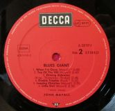 John Mayall Blues Giant Etichetta Lato 2