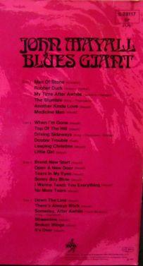 John Mayall Blues Giant Titolo Brani
