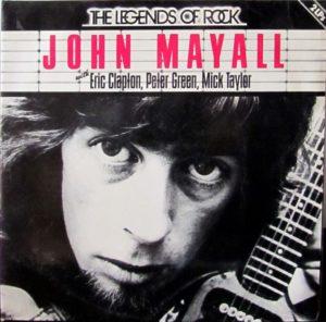 John Mayall Legends of Rock Copertina